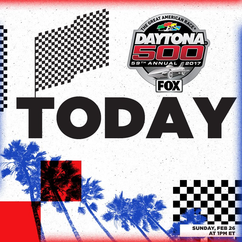 It's officially #DaytonaDay at @DISupdates! #DAYTONA500 @FOXTV https:/...
