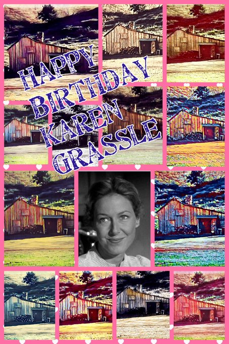 Happy Birthday to Karen Grassle