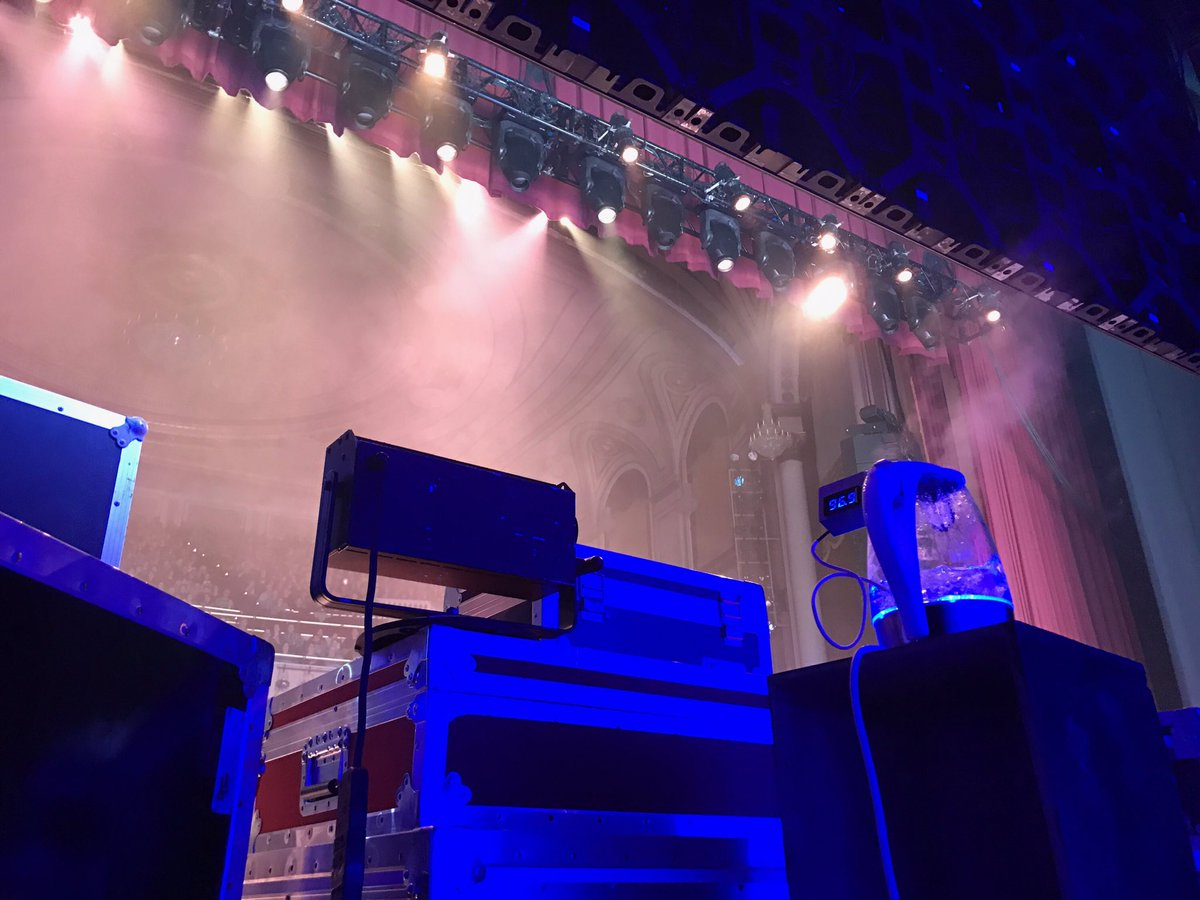 Cool view backstage at #BrainCandyLive in Worcester, Ma. Awesome sold-...