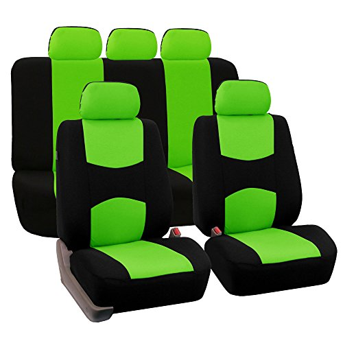 FH #Group FH-FB050115 #Full Set #Flat #Cloth Car #Seat #Covers #Green / #Black #Color- Fit ... -  http:// bit.ly/2lSn1HV  &nbsp;  .  #FHFB050115<br>http://pic.twitter.com/fuuJ6YJHUc