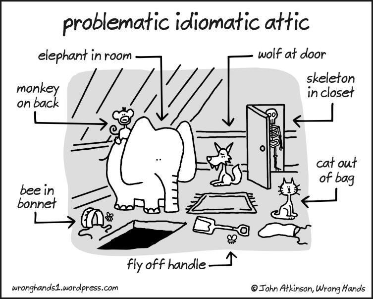 Do we just seep all these under that rug? #idioms #language #amwriting<br>http://pic.twitter.com/loMztoZ1cT