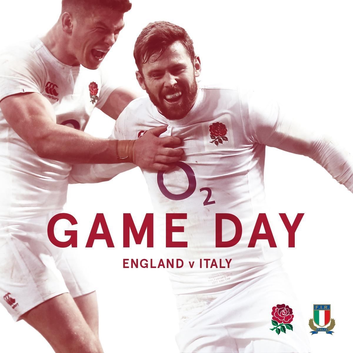 It's GAME DAY 💥  Where are YOU going to be watching #ENGvITA today? ht...