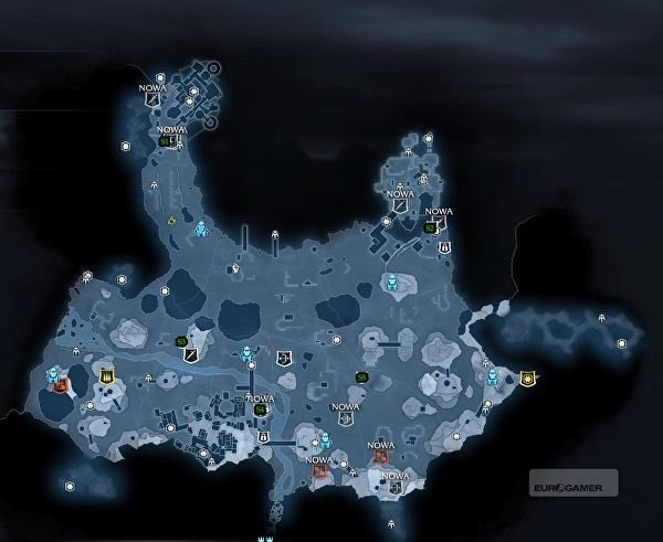 Open World On Twitter Middle Earth Shadow Of War 2017 World Map