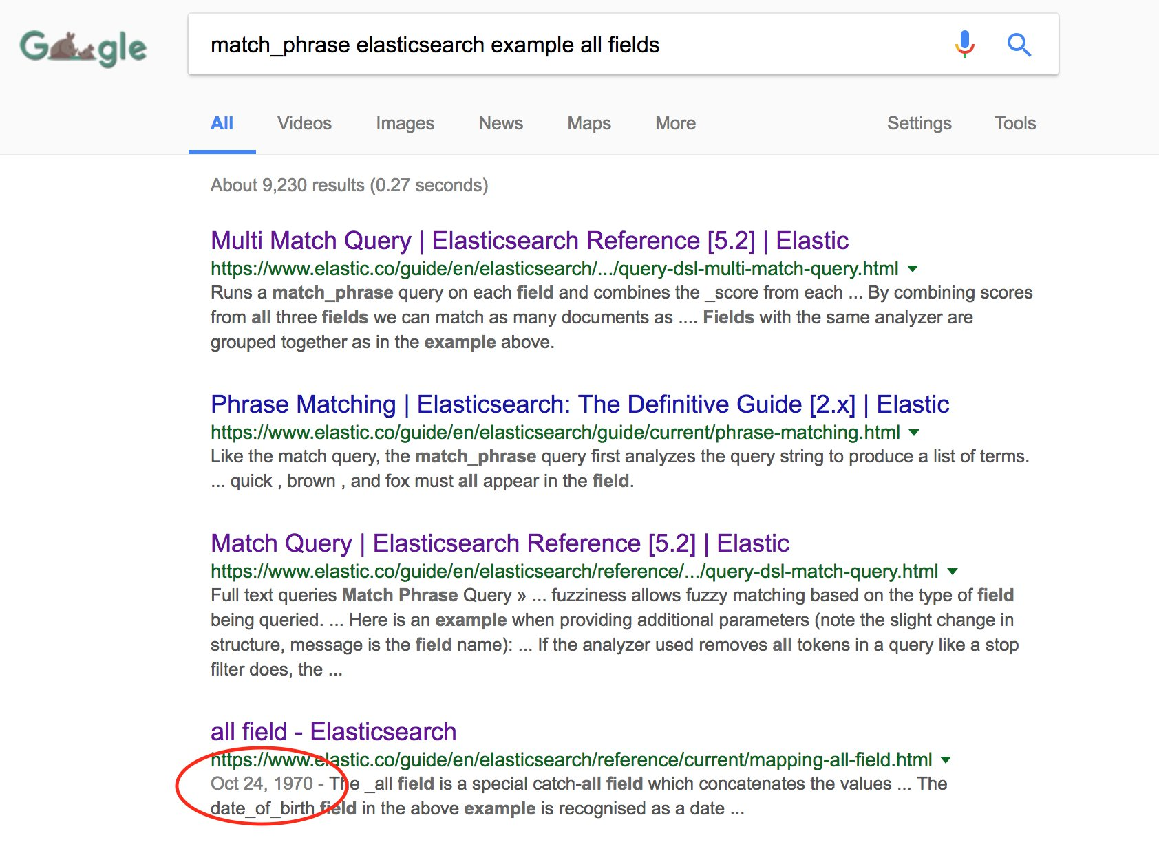 Elasticsearch Fuzzy Multi Match