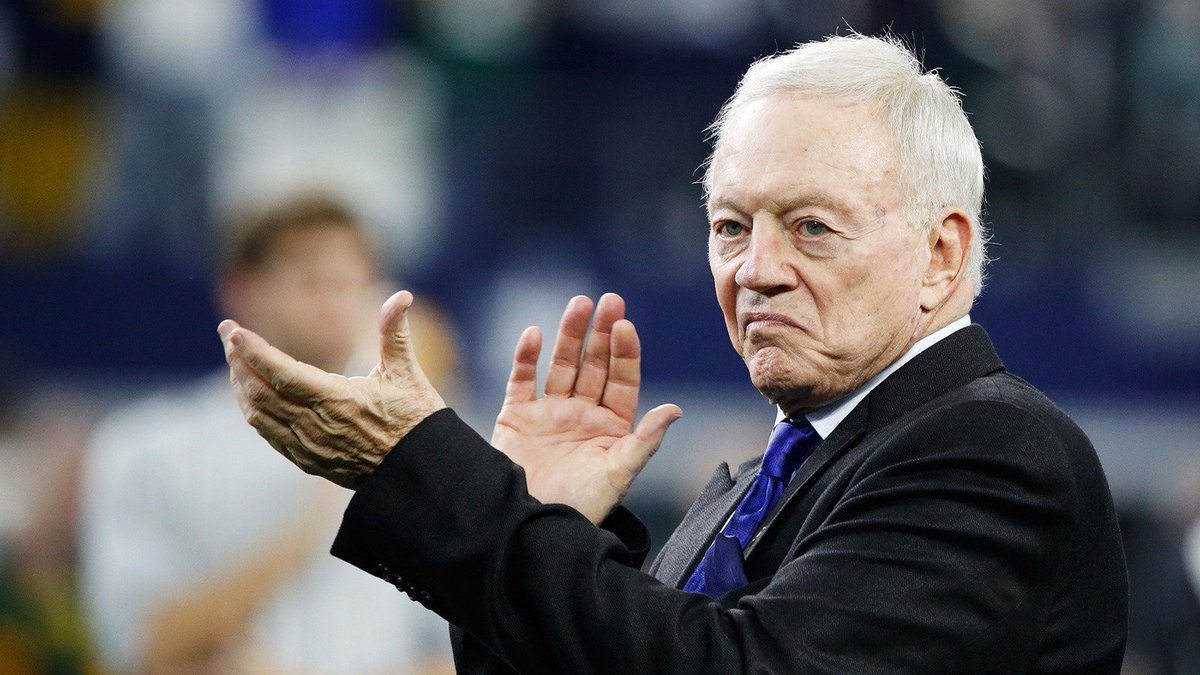 .@dallascowboys owner Jerry Jones: No decision has been made regarding Tony Romo. tw.nbcsports.com/8dp0