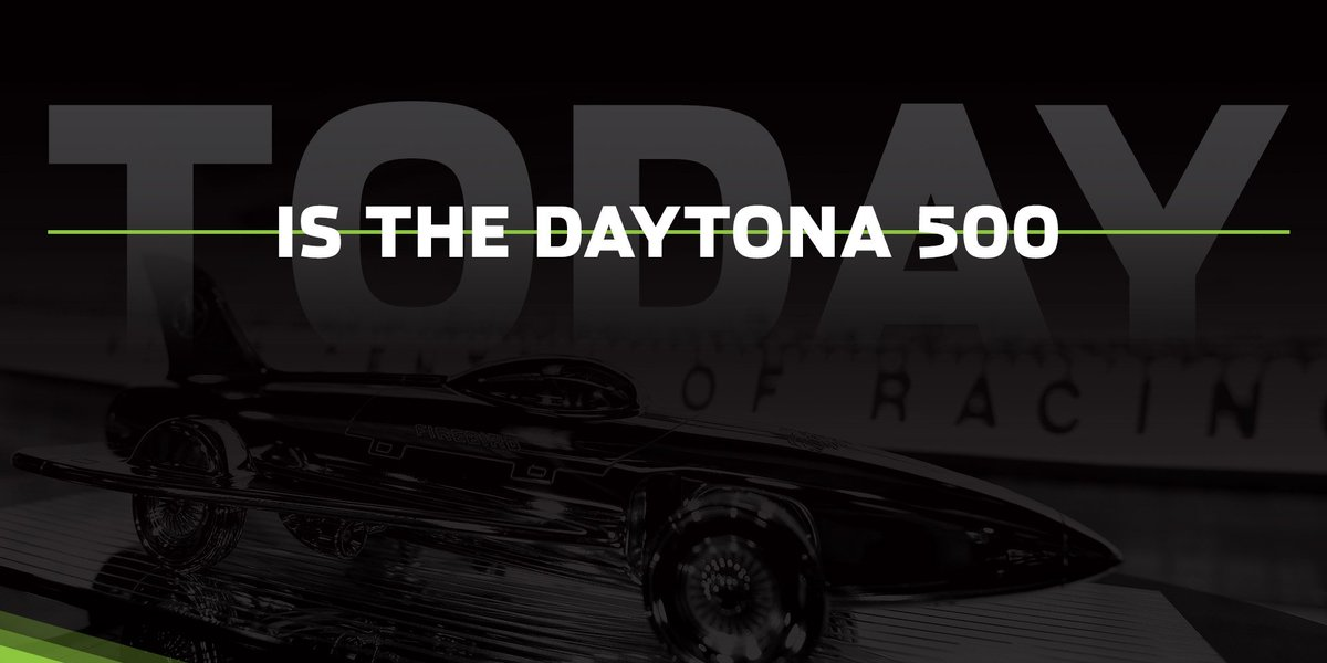 TODAY. #DAYTONA500 https://t.co/UDnXvVAAFr