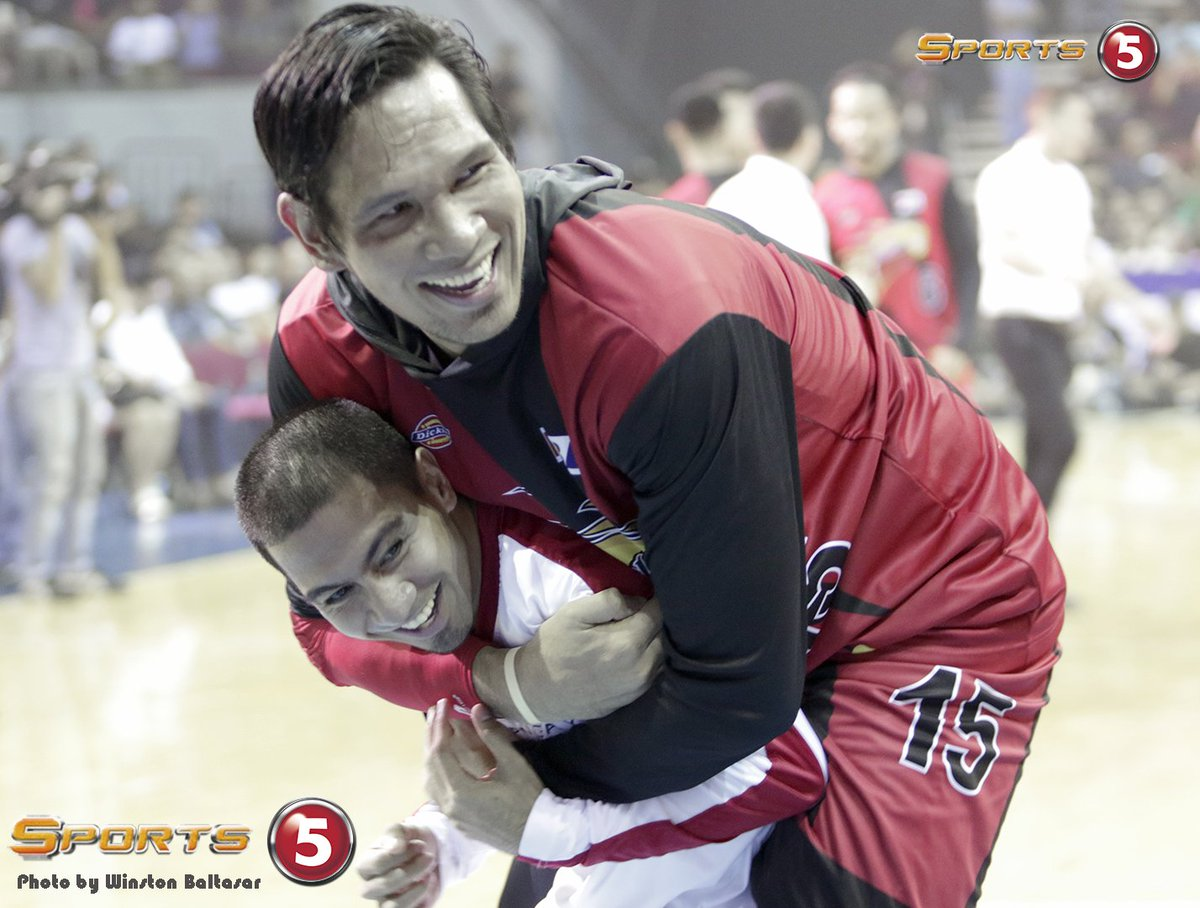 4 hours go to! #PBAFinals Game 2! Caption this photo! #WeArePBA https:...