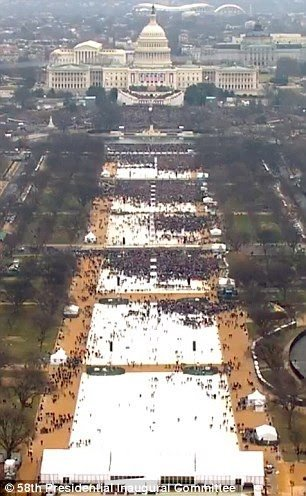 @realDonaldTrump I love that you love how white your sparse inauguration crowd was #Trump #TrumpInauguration <br>http://pic.twitter.com/fi5ibe1Yqx