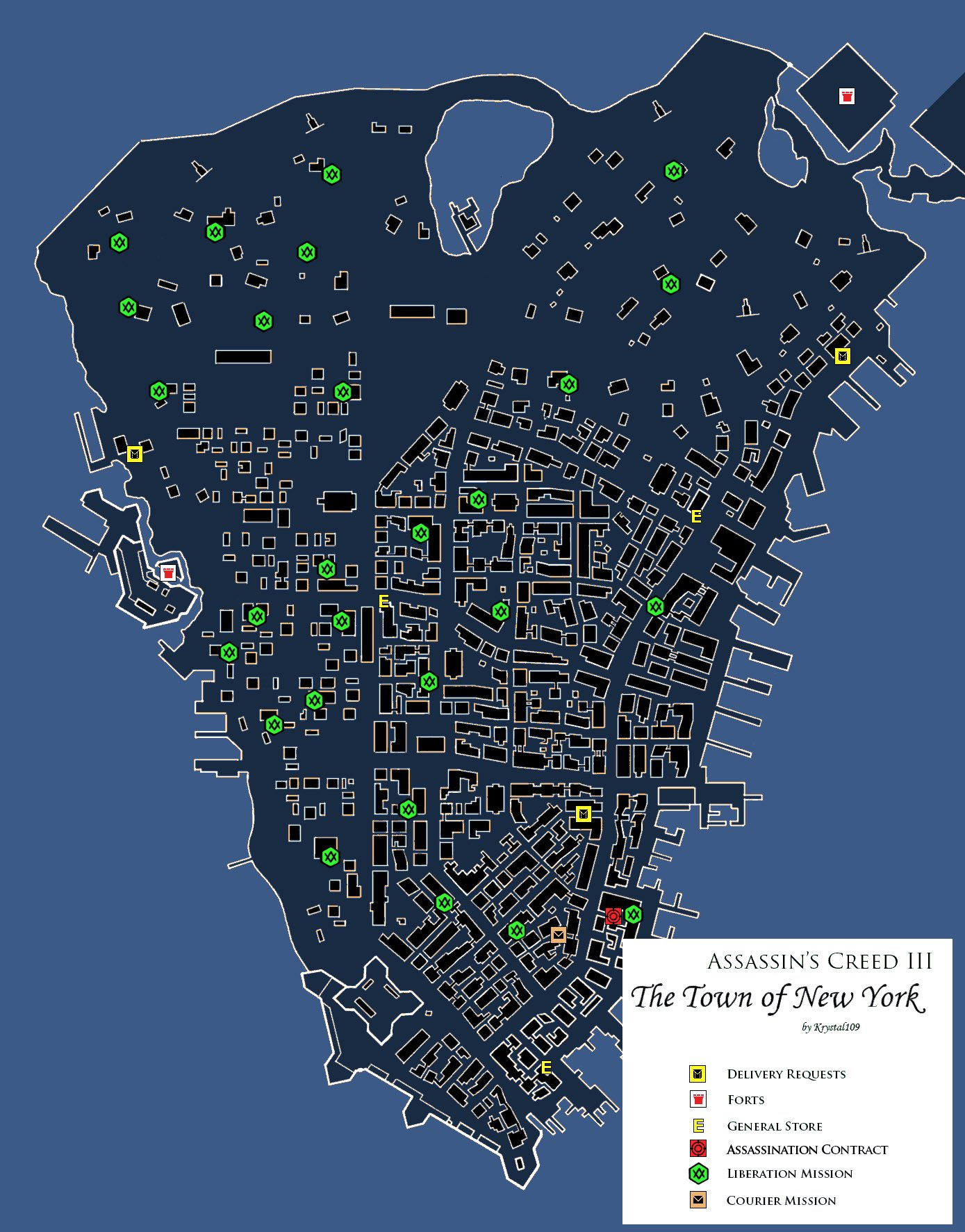 Open World On Twitter Assassin S Creed Iii 2012 Main Locations