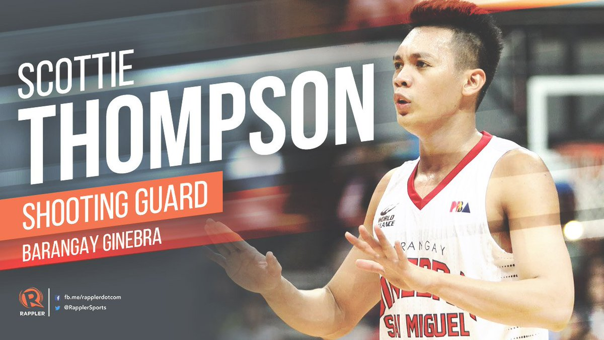 Scottie Thompson already with 14 points, 12 rebounds, 4 assists for Ba...