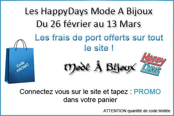 #bonplan En ce moment Chez #mode A #bijoux les frais de port offerts ! Tapez le #codepromo : #promo  la boutique ☛ :  http://www. mode-a-bijoux.com / &nbsp;  <br>http://pic.twitter.com/RSJataTyN1