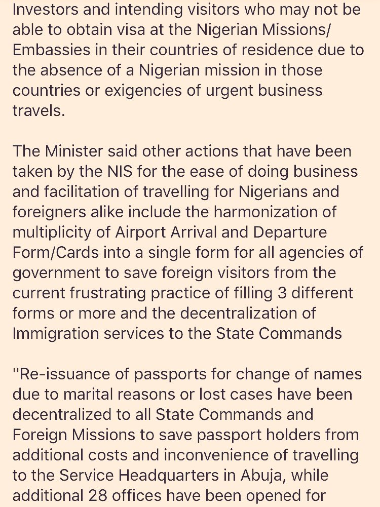 Government Of Nigeria On Twitter Do You Need To Apply For A New
