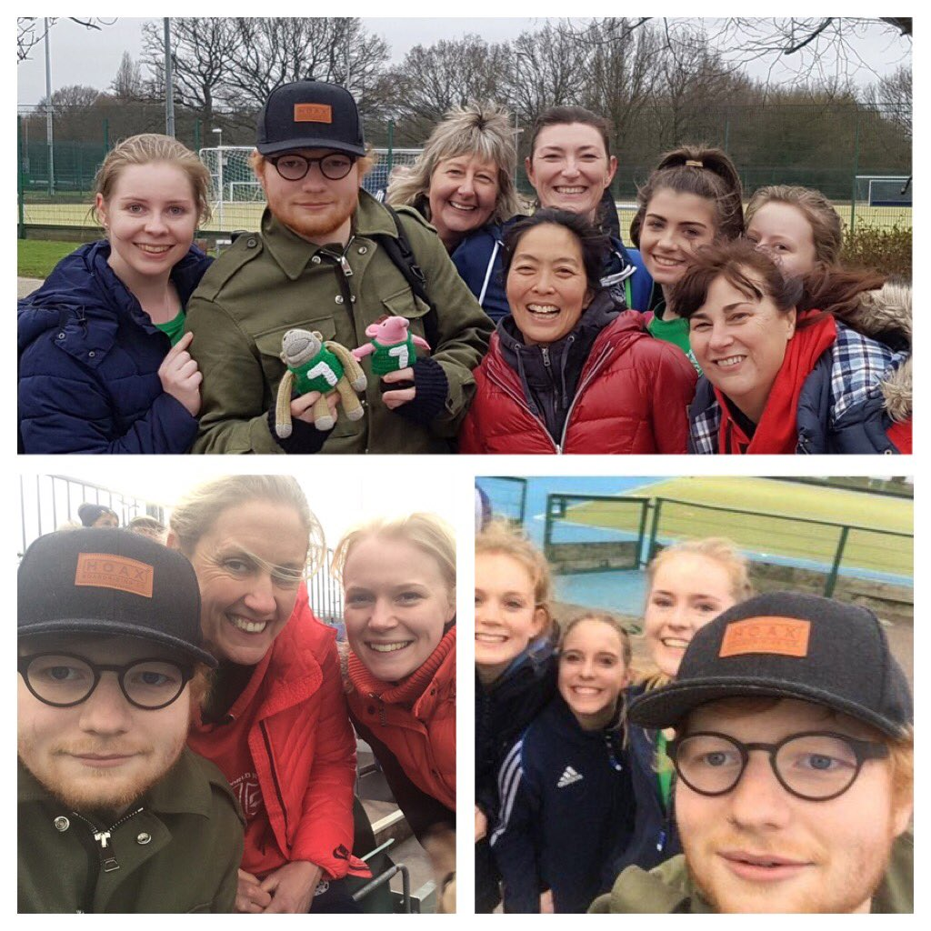 Look who turned up to watch @ChelmHockey yesterday at Chelmer Park!