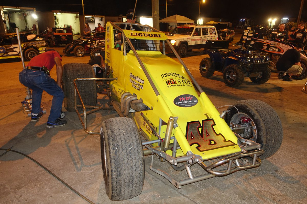 Florida open wheel on twitter floridian now midwestern transplant joe liguori raced in the usac winter games at bubba raceway park with the usac sprint
