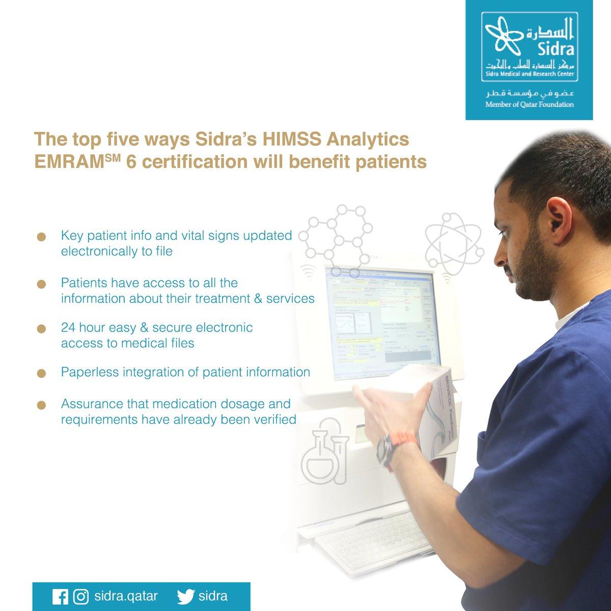 Sidra medicine on twitter sidra is so proud to achieve himss sidra medicine on twitter sidra is so proud to achieve himss analytics emramsm stage 6 himssanalytics httpsttkheobfbqe 1betcityfo Images