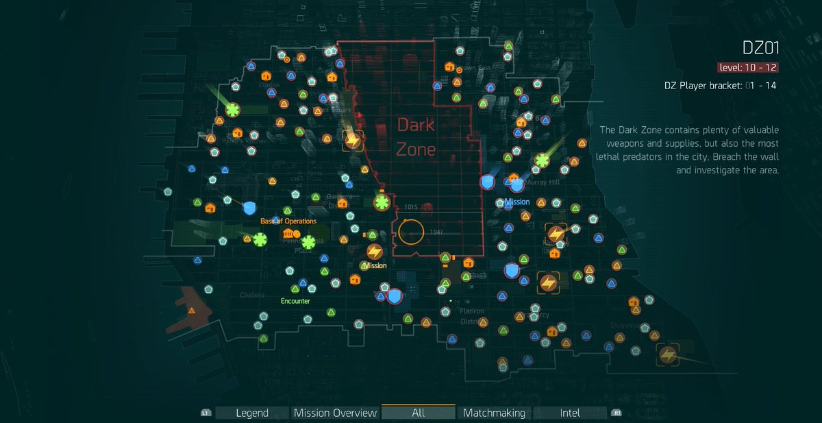 the division world map Open World On Twitter The Division 2016 Map Thedivision