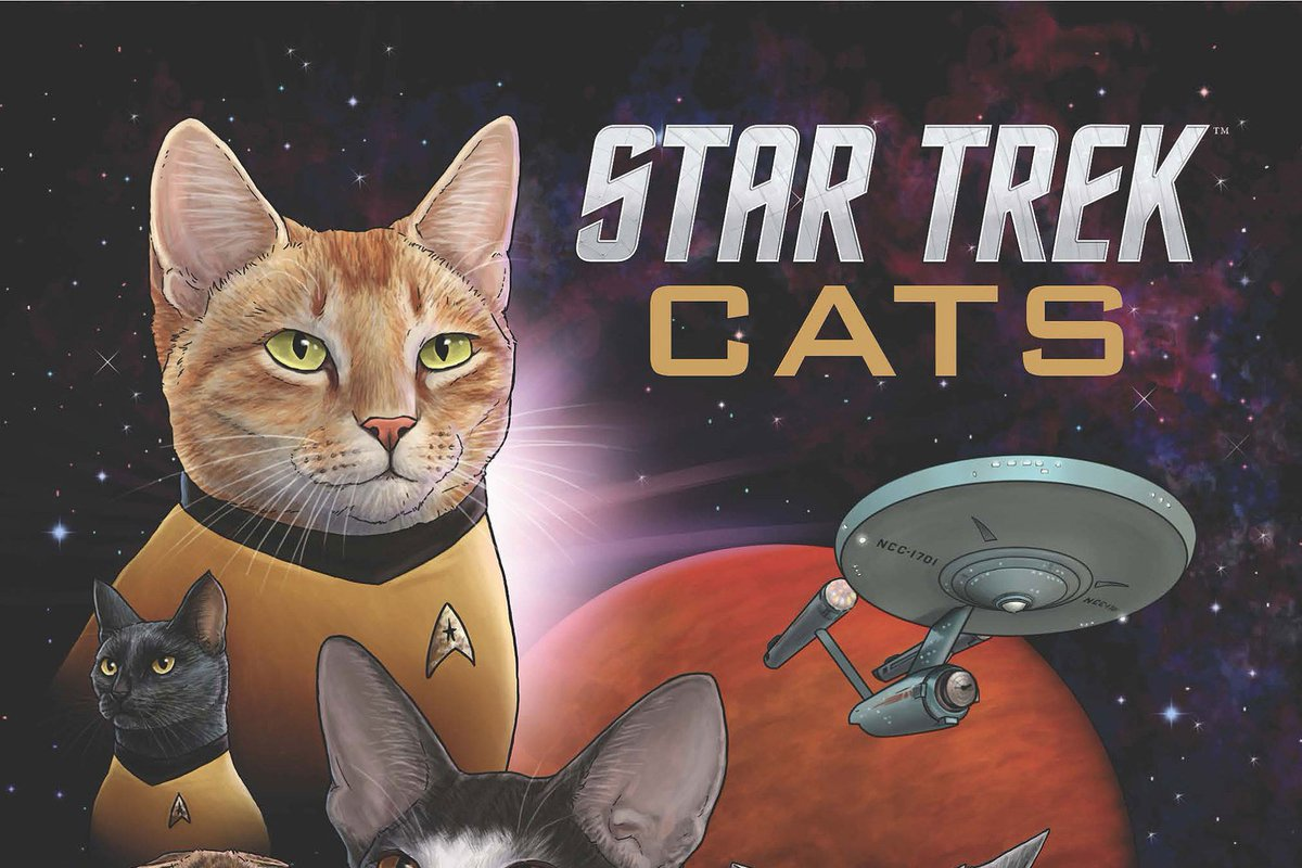 Beam Me Up, Kitty! It\'s Star Trek With Cats =>   via @PeoplePets