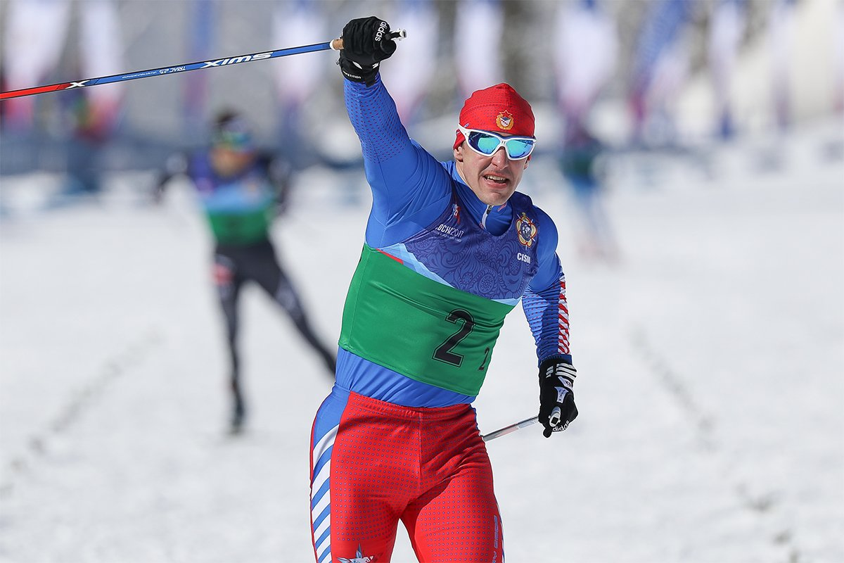 Лыжный спринт картинка