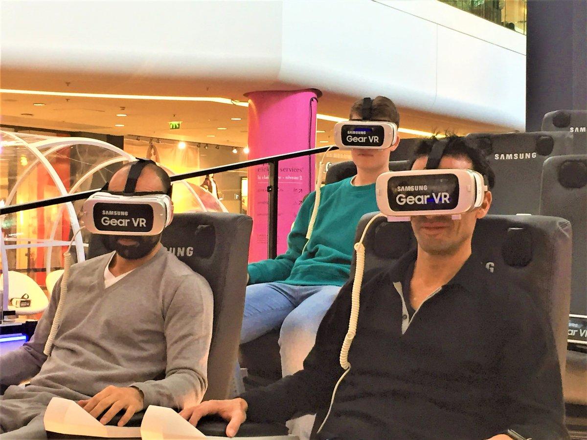 Dernier jour pour profiter de l&#39;animation #Samsung gratuite aux 4 Temps! Venez frissonner dans le Grand 7  #les4temps #ladefense #cnit<br>http://pic.twitter.com/s6W78twPmJ