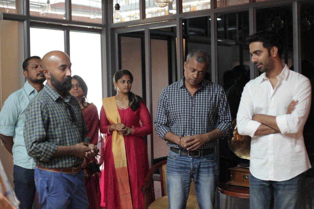 The maiden production of @auraacinemas starring Veera is titled as 'Arasiyala Idhellam Saadharanamappa' #AISmovie @DoneChannel1 https://t.co/UFTXjFdt3w
