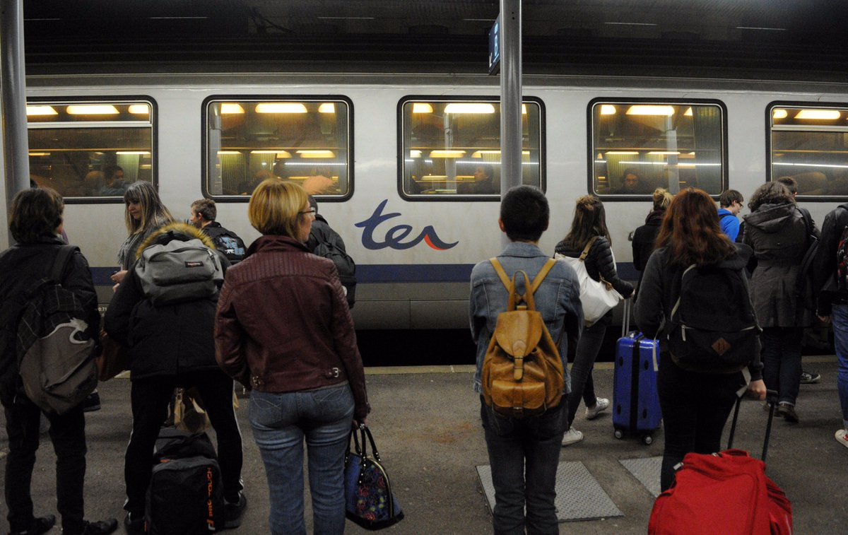 Toujours des perturbations sur la ligne Paris - Cherbourg. Retour à la normale vers 15h #SNCF #Normandie   https://www. francebleu.fr/infos/transpor ts/week-end-de-perturbations-sur-la-ligne-sncf-paris-cherbourg-1488105299 &nbsp; … <br>http://pic.twitter.com/jyyDOrXQxL