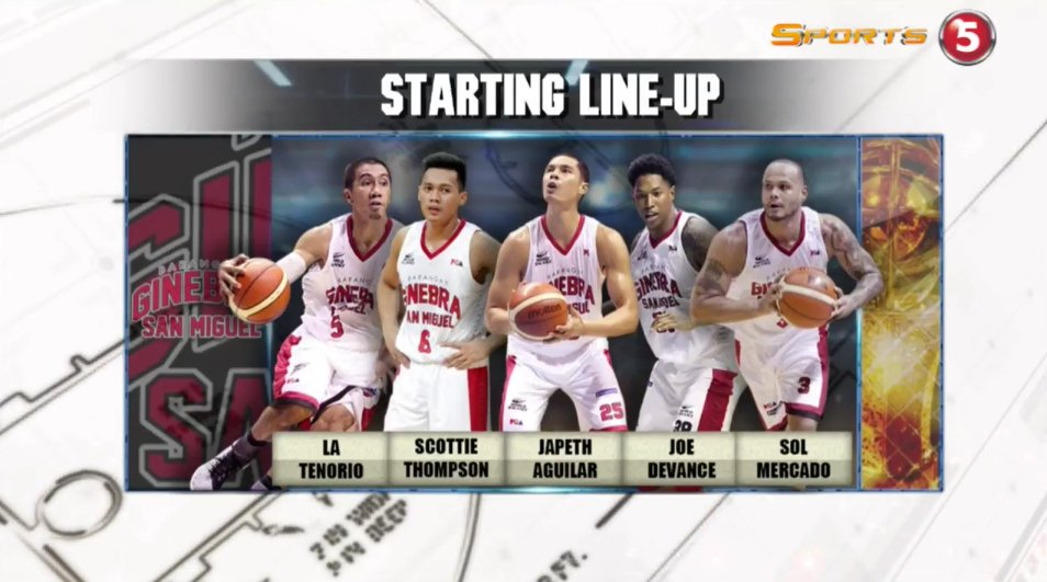 Starters for #PBAFinals Game 2! https://t.co/QVTwXfwcN8