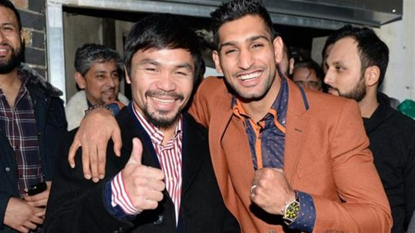 So Manny Pacquiao v Amir Khan is ON for April 23rd. What a year 2017 i...