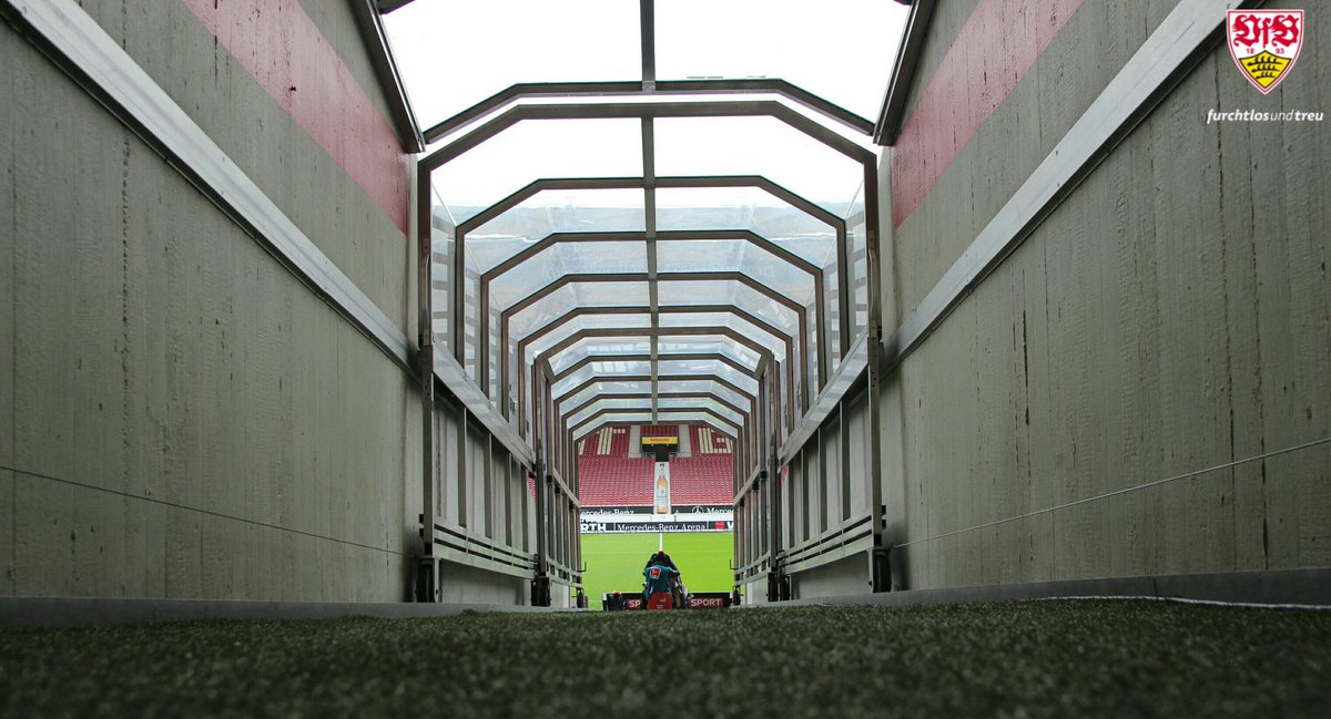 Tunnelblick. #Heimspiel #VfBFCK https://t.co/TIRZLVBjVC