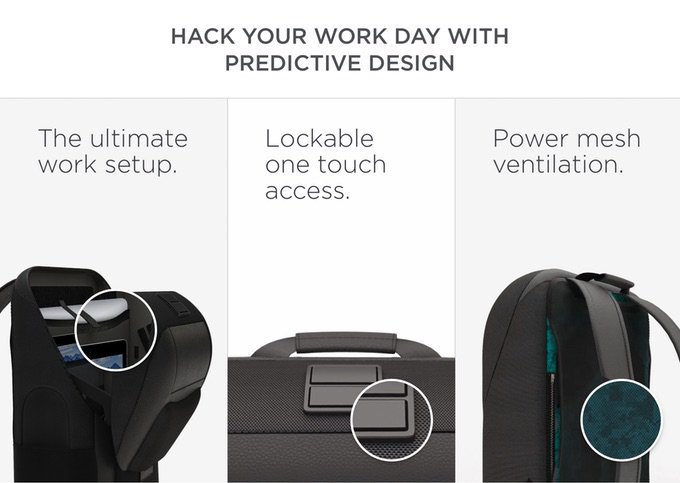 146776604 ... The backpack that hacks your everyday حقيبة ظهر  https://www.kickstarter.com/projects/watsonbackpack/watson-the-backpack-for-uncompromising-professiona  …