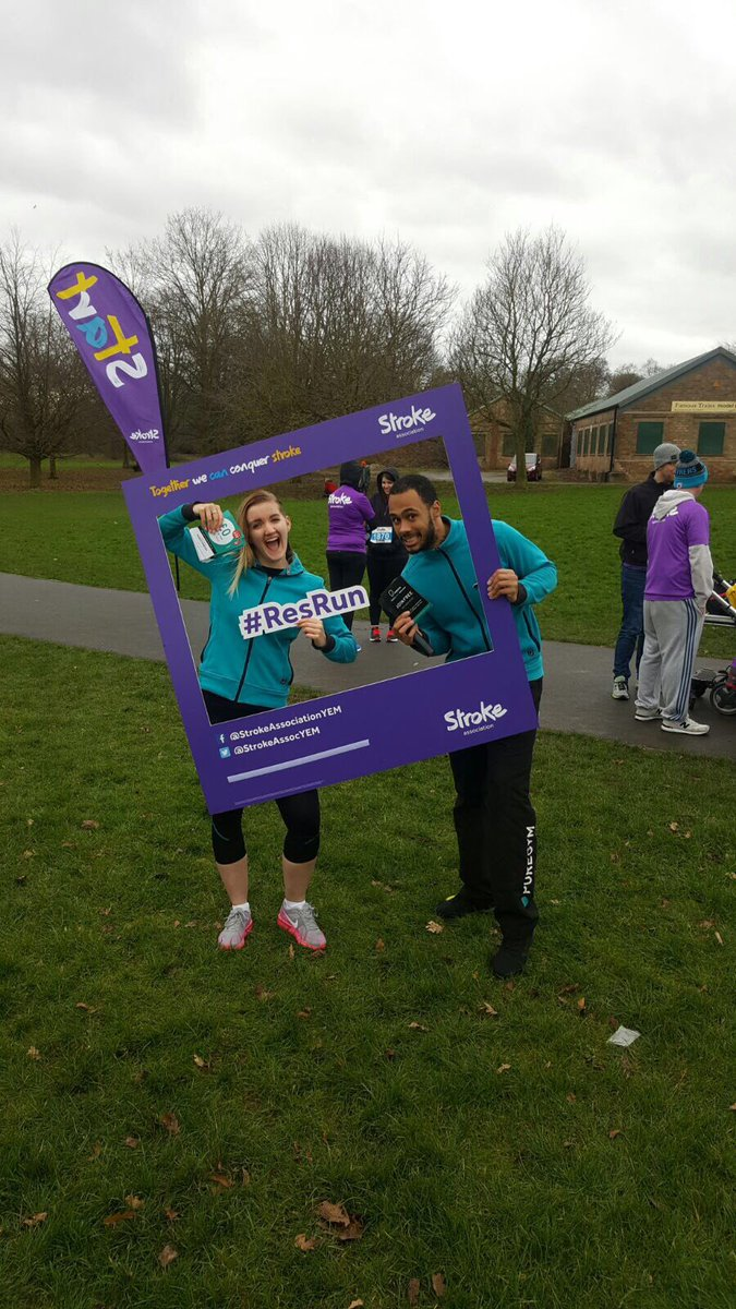 Great fun doing the warm up @FOMP_Derby for the #5km @TheStrokeAssoc this morning #Derby #sundayrunday<br>http://pic.twitter.com/9hE4L3XlHb