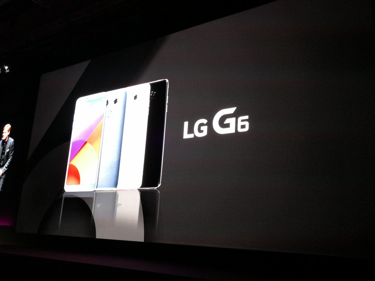 The #LGG6 comes in 3 colors: black,  white and platinum. #mwc2017 http...