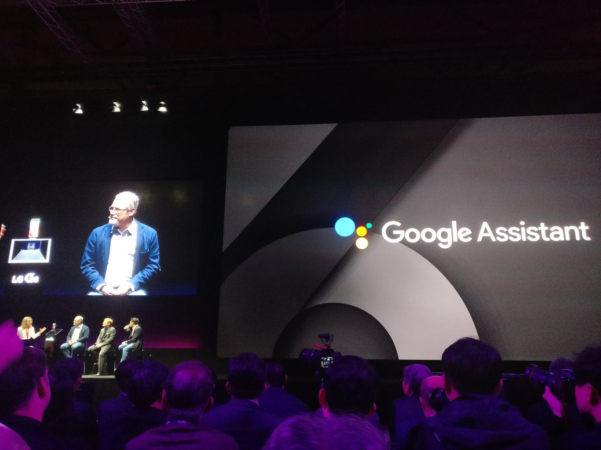 LG G6 to feature Google Assistant! https://t.co/Lznxg6Esjj