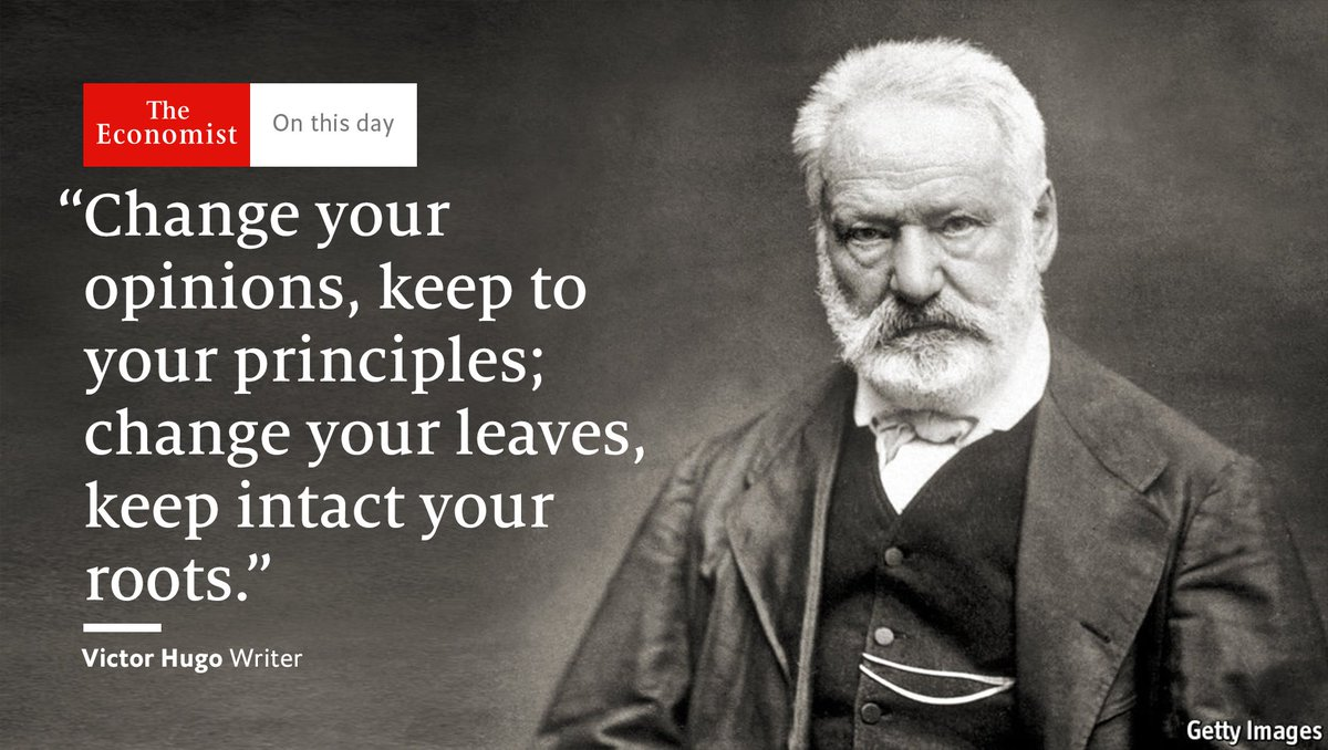 """Victor Hugo was born #OnThisDay 1802. How he came to write """"Les Miséra..."""