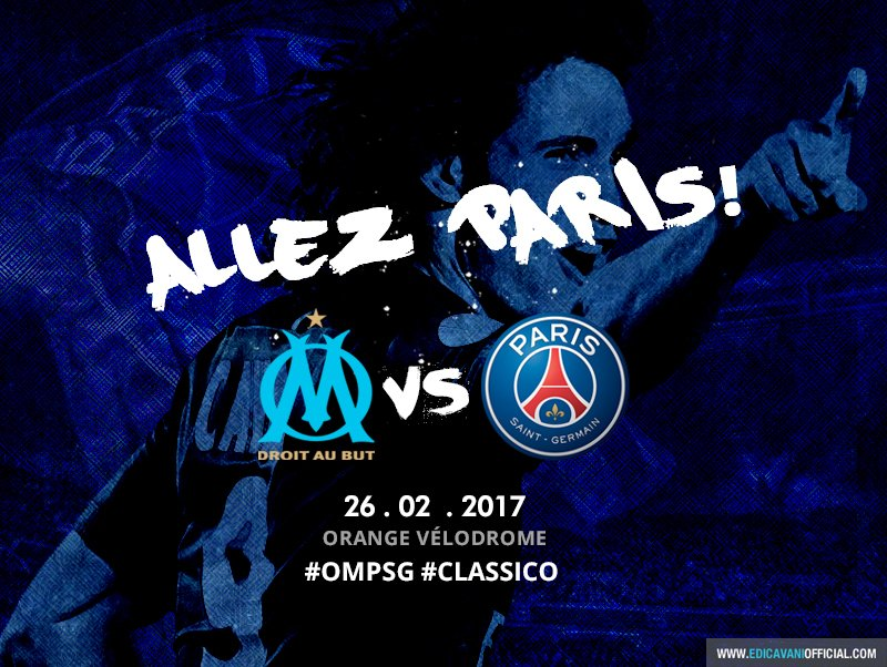 ALLEZ PARIS! #OMPSG #CLASSICO https://t.co/NYCj5byjkB