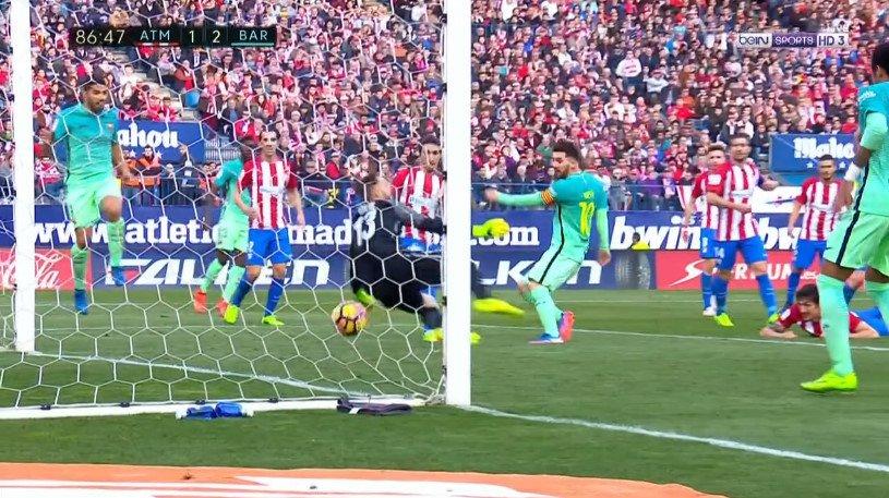 أهداف مباراة أتلتيكو مدريد وبرشلونة 1-2 بالدوري الإسباني