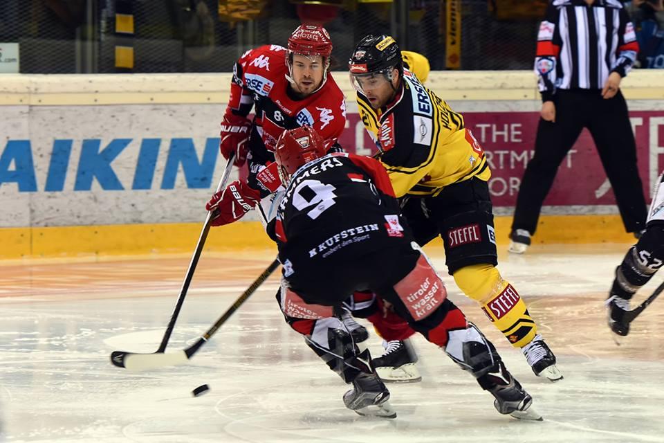 Eishockey, EBEL, Erste Bank Eishockey Liga, Vienna Capitals, HC Innsbruck, Play-Off, Viertelfinale