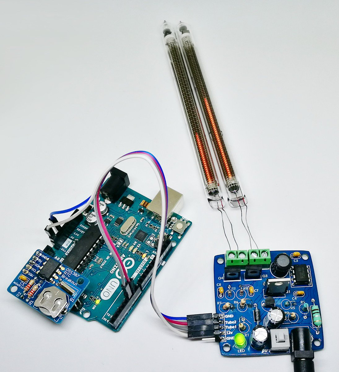 Robin Sterling On Twitter New Ks Project Is Taking Form In 9 Nixie Tube Clock Circuit Bargraph Driver Controlled By Pwm Turn Anything Into A Indicator