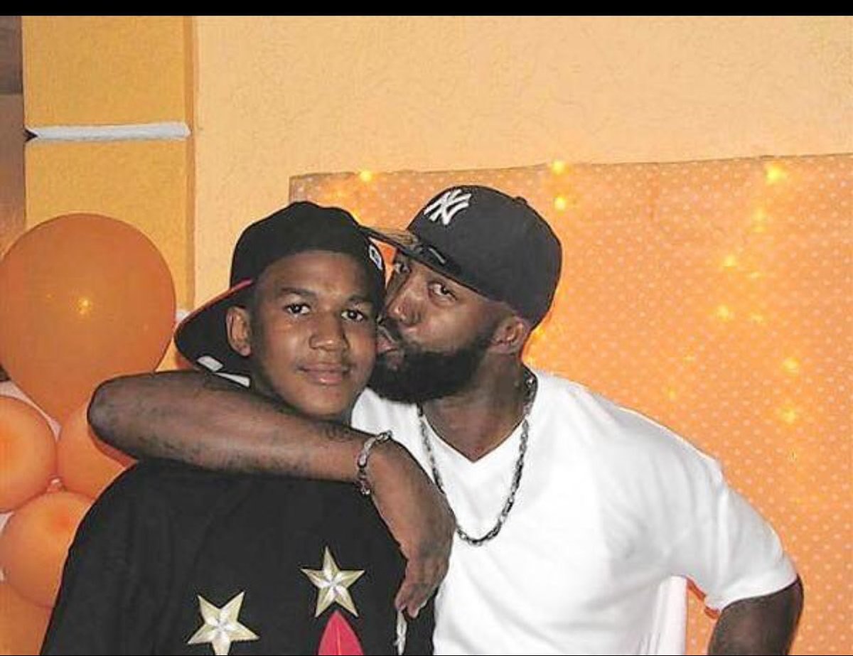 Beautiful boy not unlike my own. R.I.P. #TrayvonMartin https://t.co/AU...