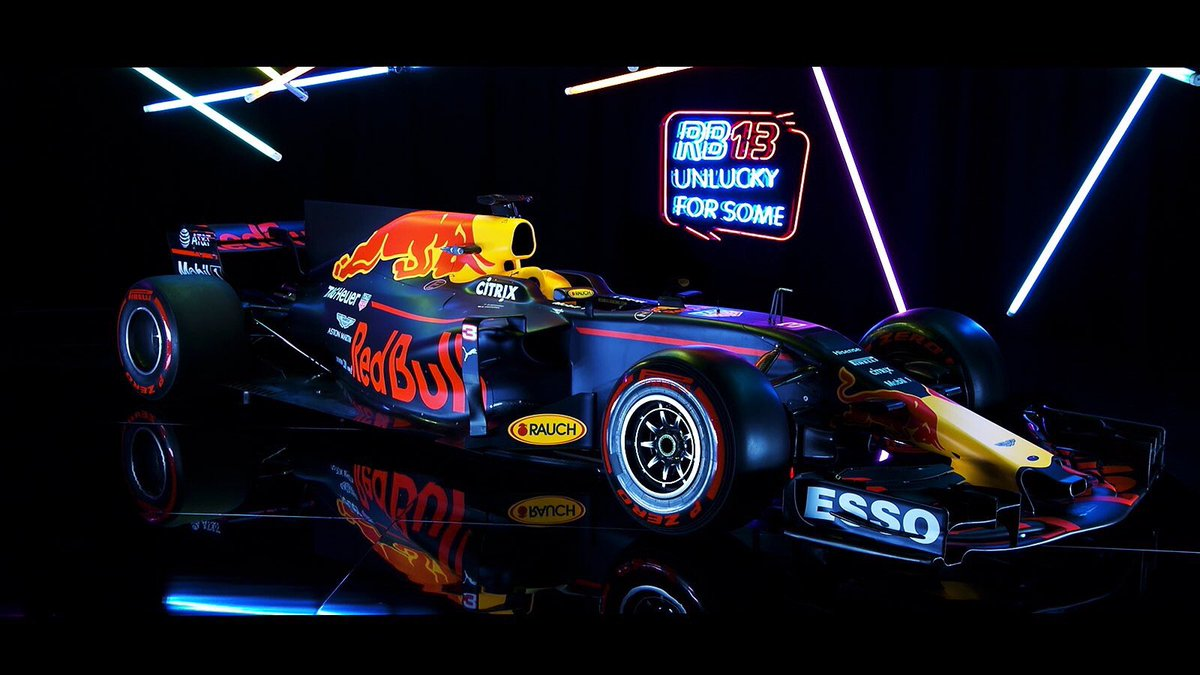The new beast!! 😍 #RB13 https://t.co/rKKJ8HxPzt