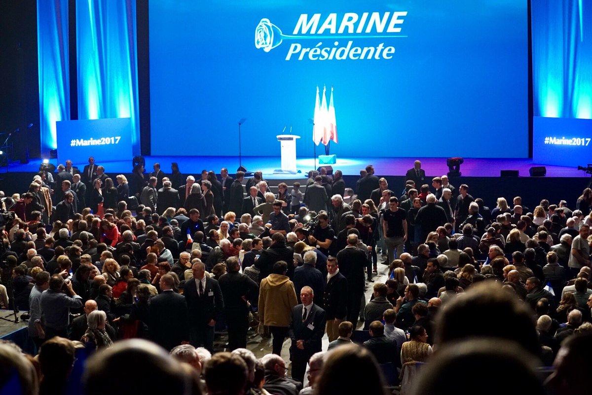 Le zénith de Nantes se remplit et se prépare à accueillir @MLP_officie...