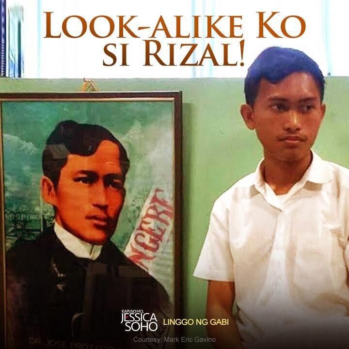 Kamukha nga ba niya si Jose Rizal? I-RT ang tweet na ito at i-like nam...