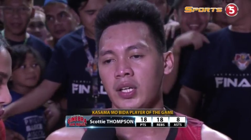 Firefly Kasama Mo Bida Player of the Game is none other than @ScotThom...