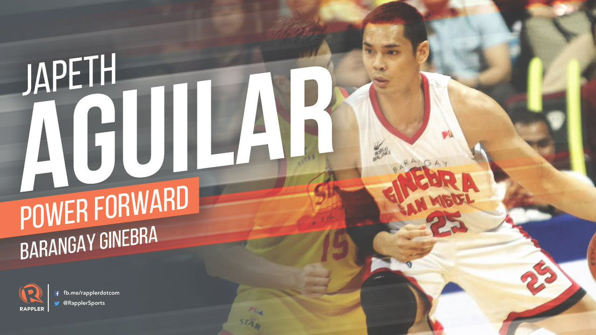 Japeth Aguilar finishes with game-high 23 points, 12 rebounds, 1 block...