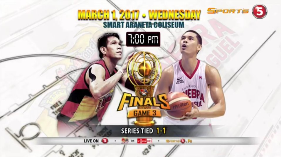Game 2 was an instant #PBAFinals classic! Don't miss Game 3 on Wednesd...