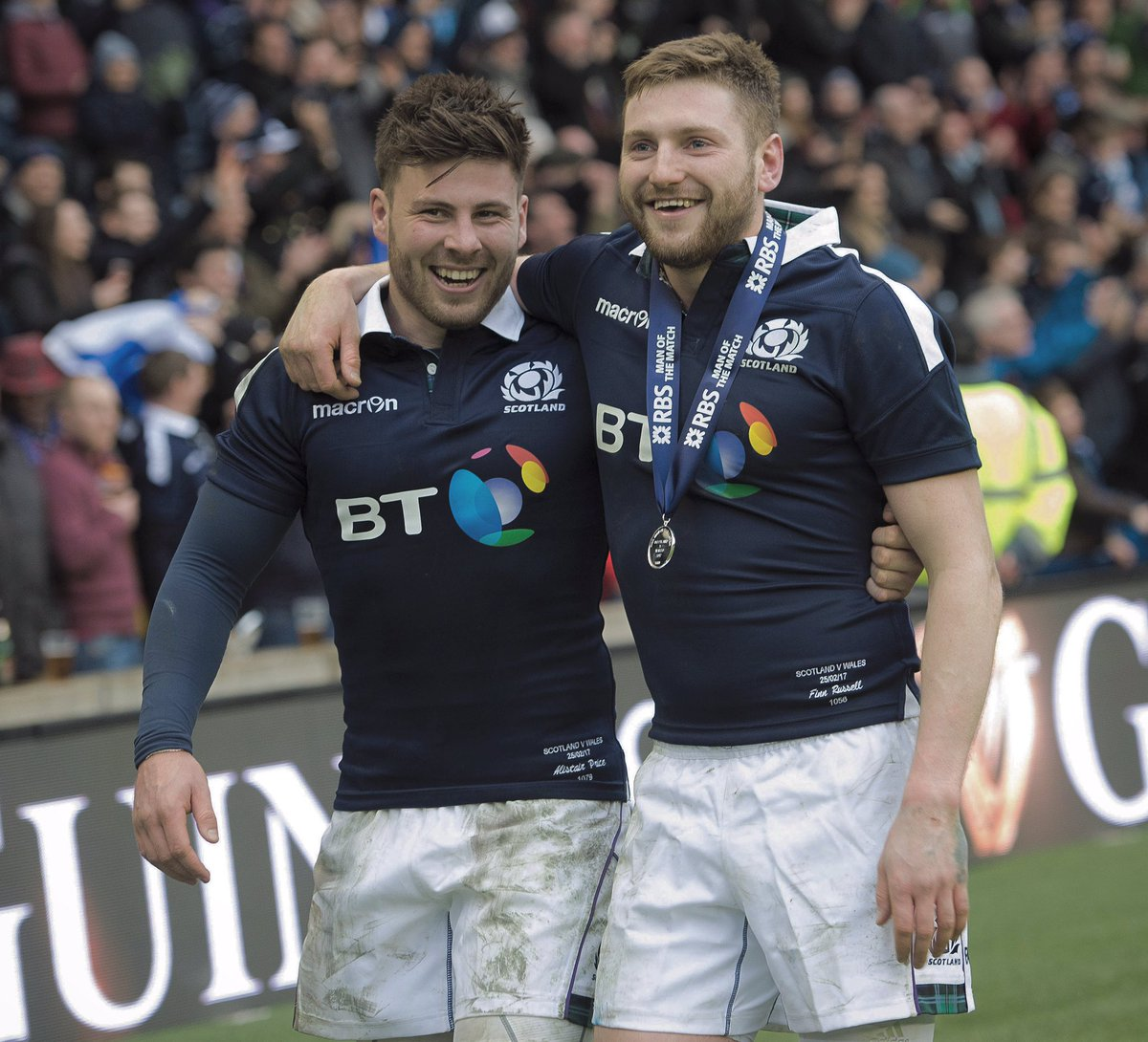 """Finn Russell on Twitter: """"Great way to bounce back and get a win against at  tough Welsh side yesterday. The support was amazing again! #asone… """""""