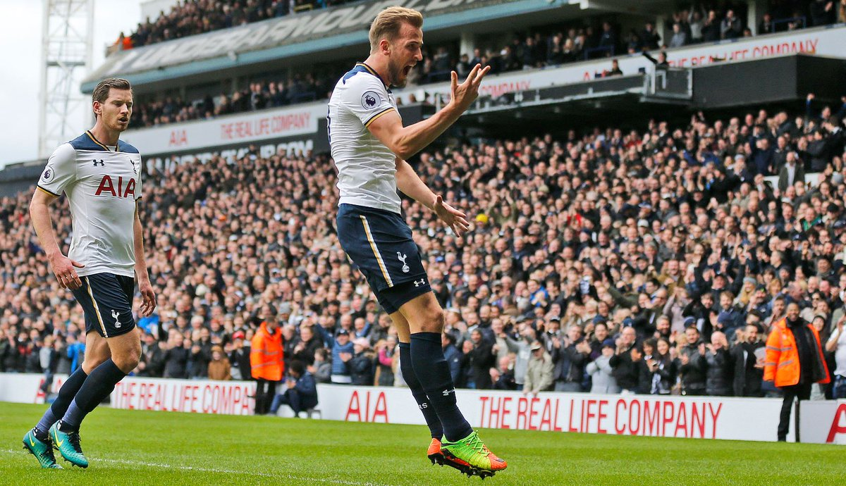 LIVE: Three hat-tricks in nine games for Harry Kane  Unstoppable. ⚽️⚽️...