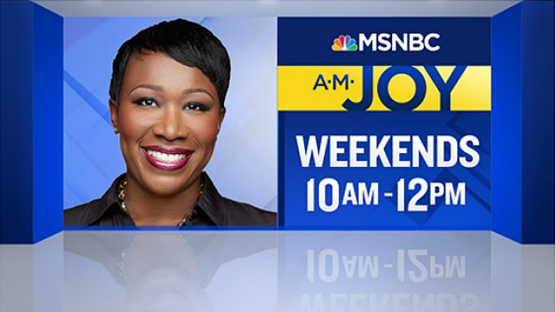 #AMJoy starts in less than one hour on @MSNBC. See you soon this #Sund...