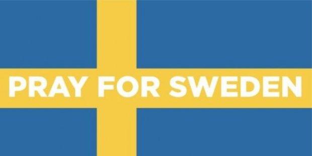 Trump'ın bahsettiği 'İsveç'teki olay'ın hayali kurbanlarına anma tören...