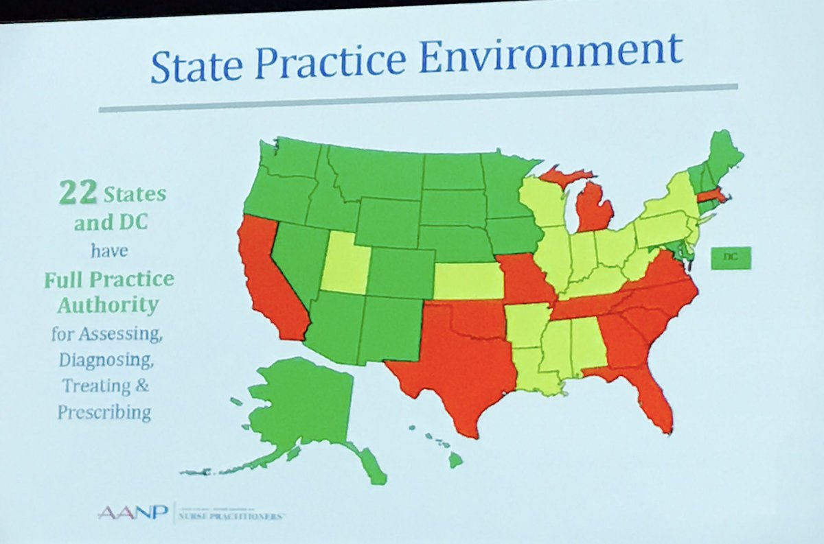 #SouthDakota eliminated restrictions to #APRN practice &amp; introduced #healthcare competition and improved consumer access to care  @AANP_NEWS<br>http://pic.twitter.com/tNXzZivNfz