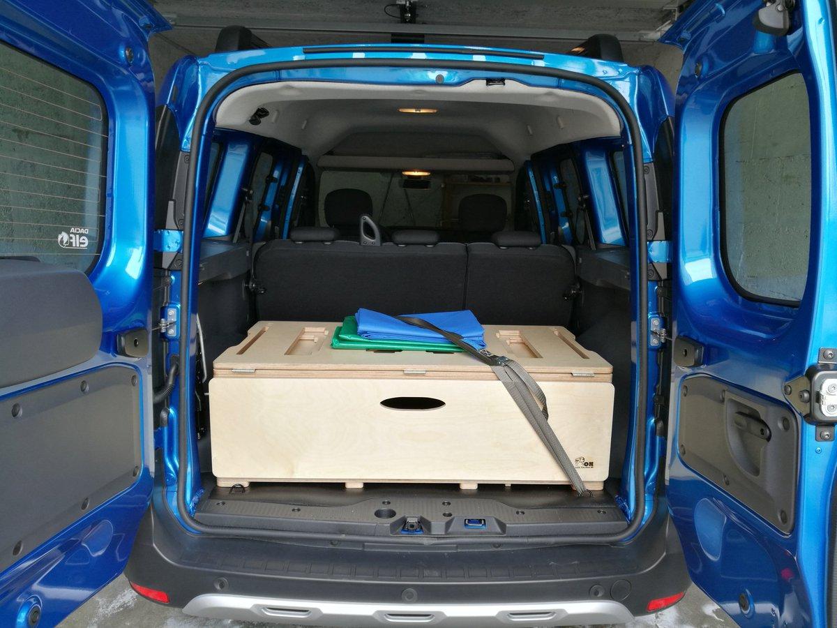 dacia dokker camping box campingausbau projekt im dacia. Black Bedroom Furniture Sets. Home Design Ideas